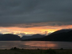 Loch Linnhe by night
