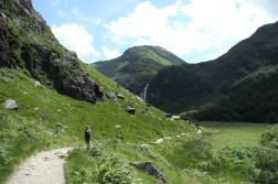 Glen Nevis, and sunshine